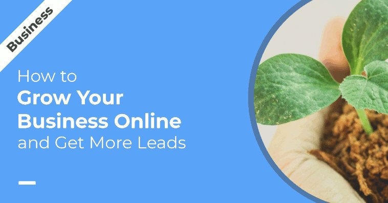 How to Grow your Business Online Presence and Get More Leads