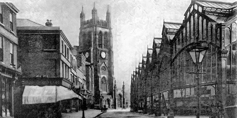 Stockport Marketplace c1905